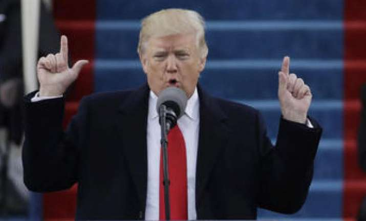 US President Donald Trump delivers his State of the Union