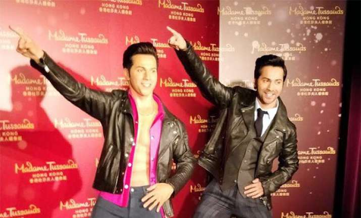 Varun Dhawan unveils wax statue at Madame Tussauds