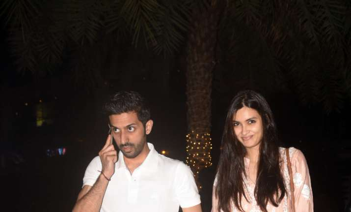 Diana Penty with boyfriend Harsh Sagar