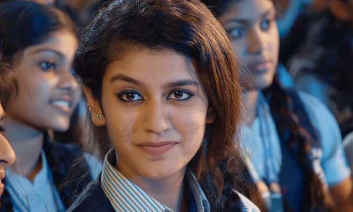 Complaint filed against 'winking girl' Priya Prakash for