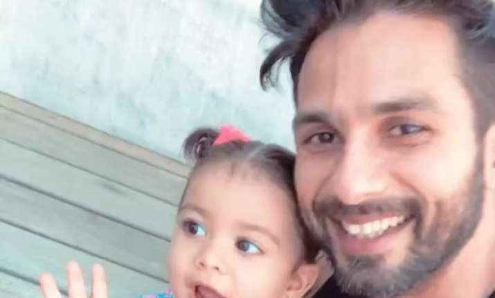 Shahid Kapoor on daughter Misha