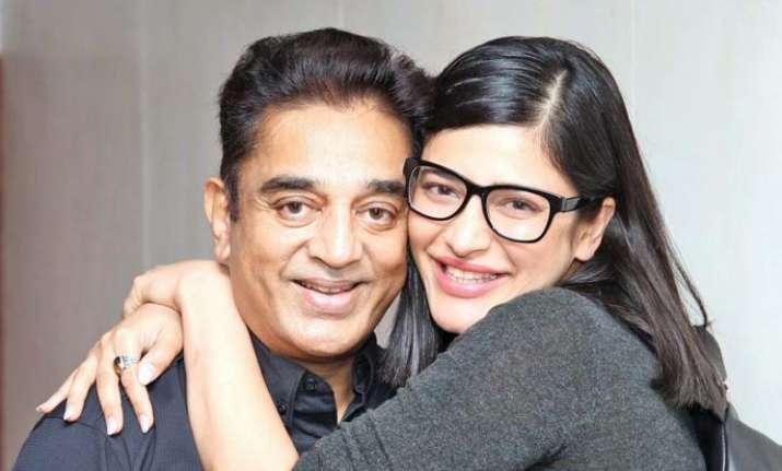 Shruti Haasan shares heartfelt message on father Kamal