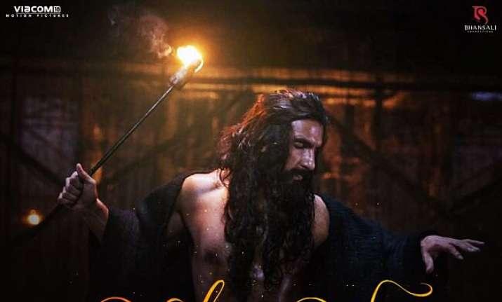 Padmaavat Binte Dil song Ranveer Singh and Jim Sarbh