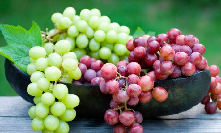 Grapes are good for mental health