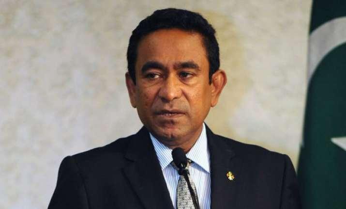 Maldivian President Abdulla Yameen