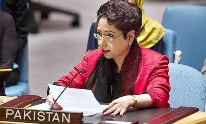 Pakistan's Permanent Representative Maleeha Lodhi