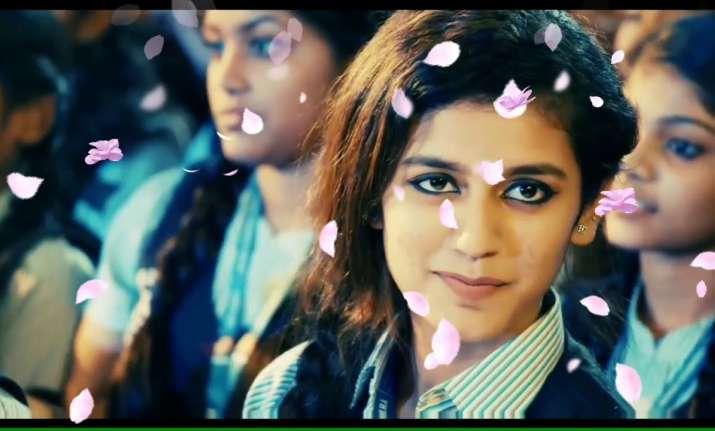 Priya Prakash Varrier in Oru Aadar Love teaser