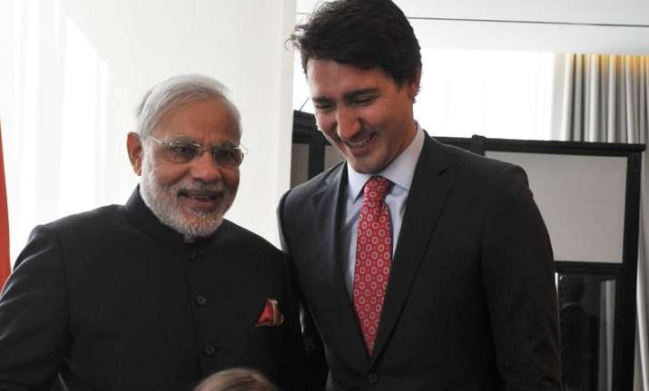 Looking forward to meeting Justin Trudeau, says PM Modi