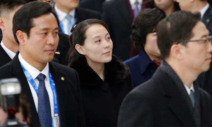 North Korean leader Kim Jong Un's sister Kim Yo Jong. AP