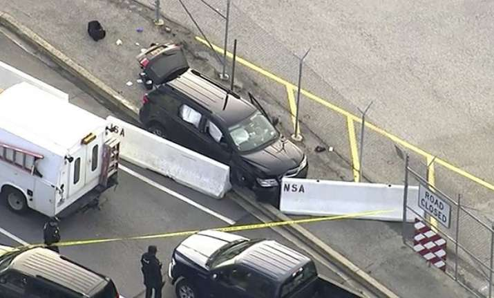 Shooting near NSA headquarters in Maryland; three injured,