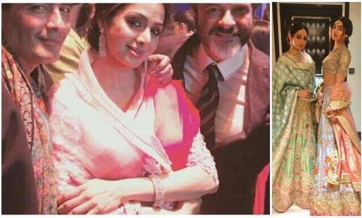 Last pictures of Sridevi