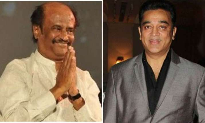 Ahead of his political tour, Kamal Haasan meets Rajinikanth