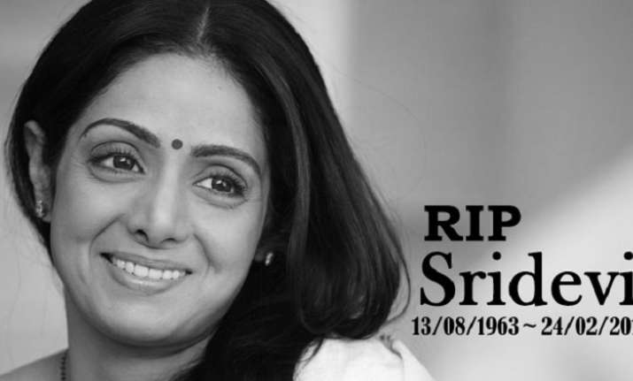 Here's how Sridevi died