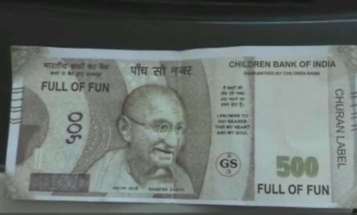 Fake Rs 500 note
