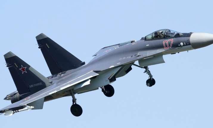Sukhoi SU-35 fighter aircraft