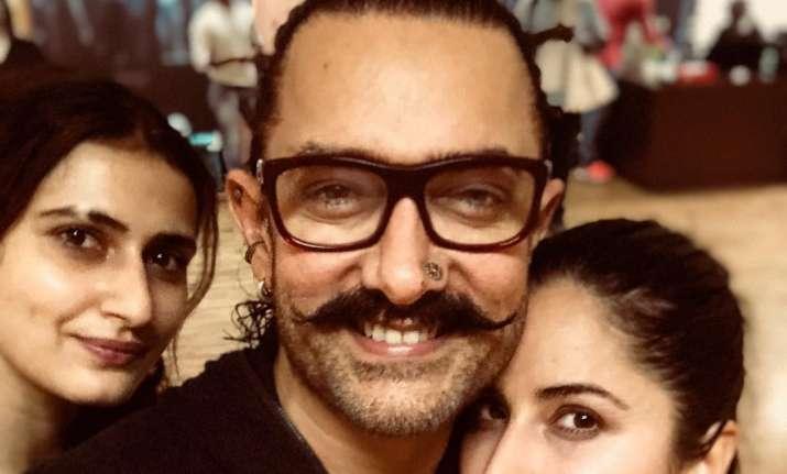 Here's how Katrina Kaif wished Aamir Khan on his birthday