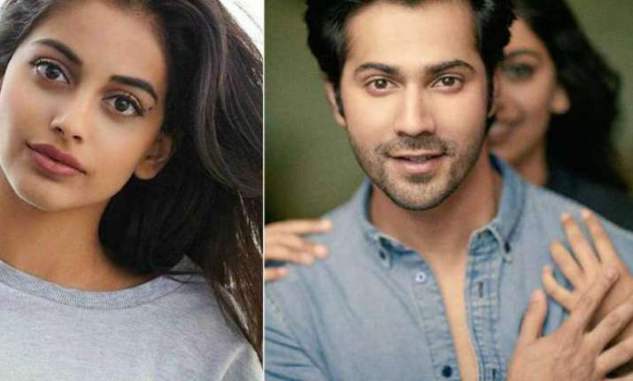October: Varun Dhawan helping co-star Banita Sandhu for her