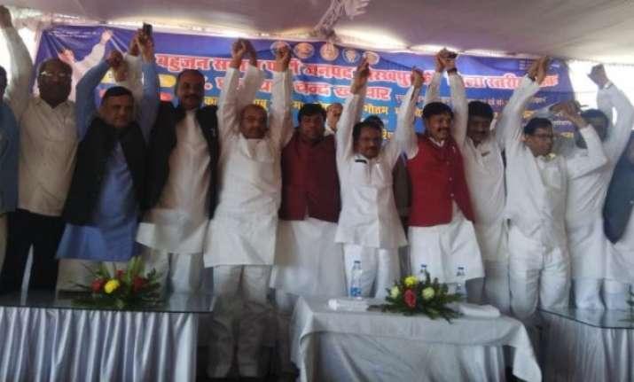 Lok Sabha bypolls in UP: BSP-SP join hands to counter