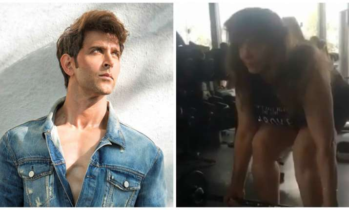 Video of Hrithik Roshan's mother lifting weights will