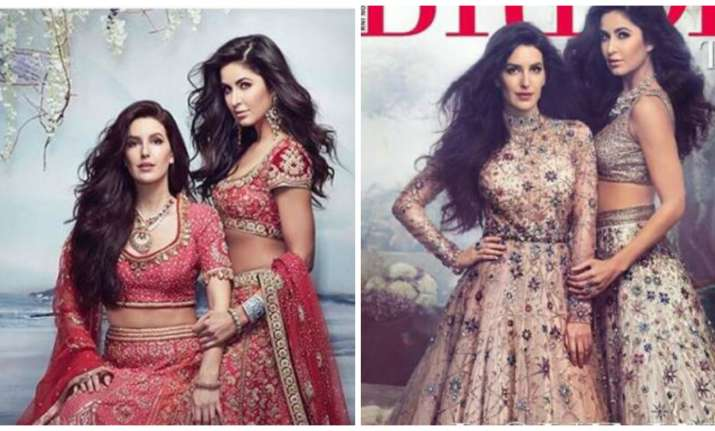katrina kaif and sister isabelle kaif are brides with swag in latest