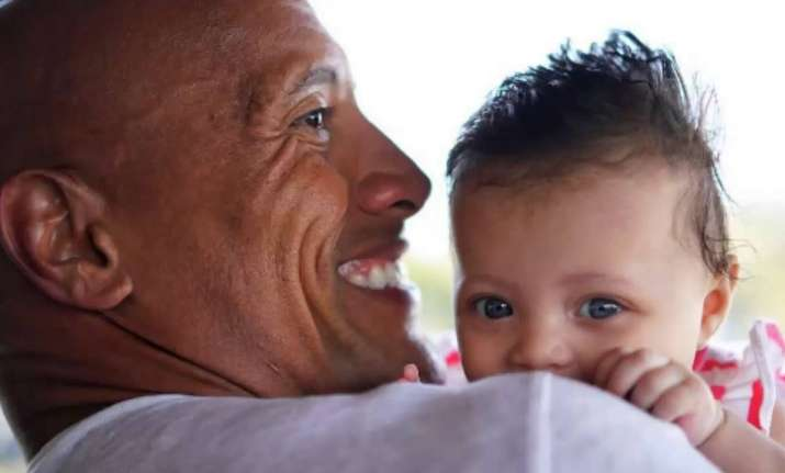When Dwayne Johnson taught his daughter the value of girl
