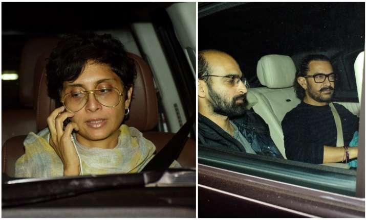 Aamir Khan Kiran Rao Ishaan Khatter condole Sridevi death