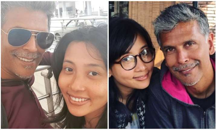 Milind Soman celebrates anniversary with girlfriend