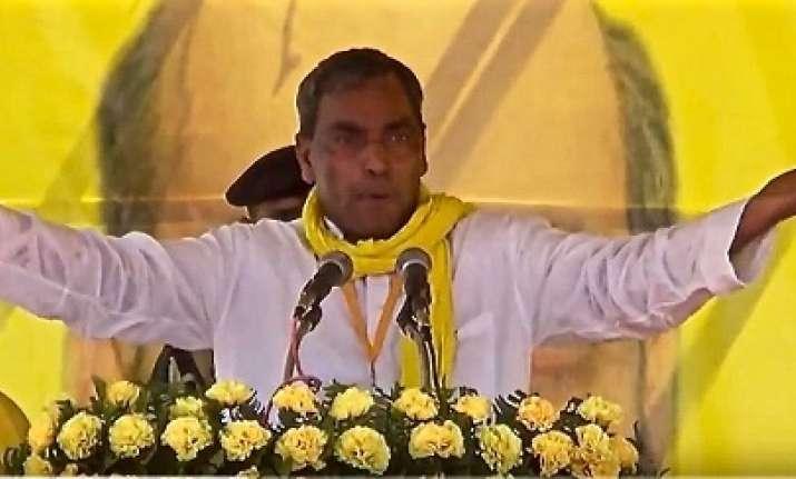 SBSP chief Omprakash Rajbhar