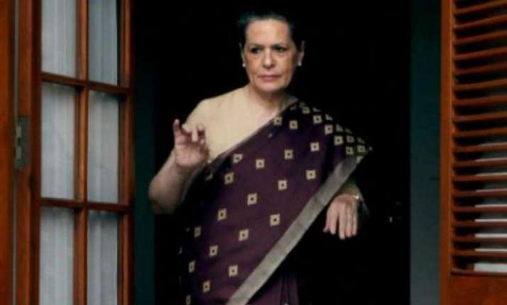 File photo of former Congress president Sonia Gandhi.