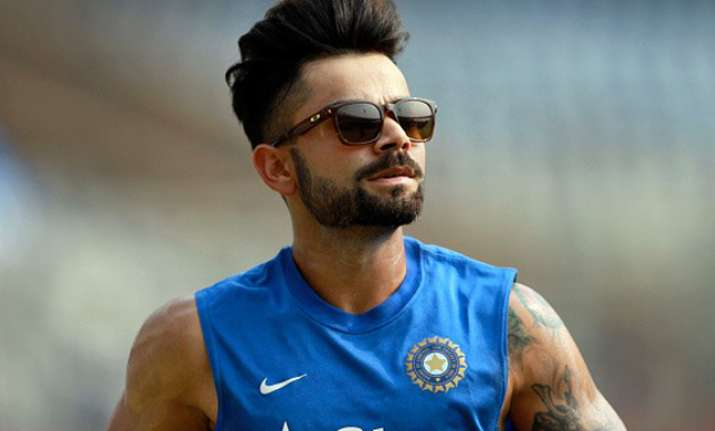 Virat Kohli Gets A New Haircut Ahead Of Ipl 2018 Have A Look