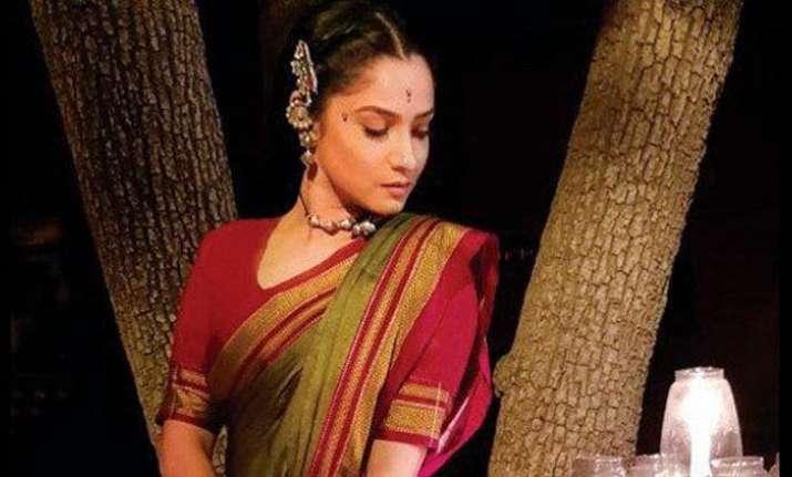 AnkitaLokhanderocks the ethnic look in her