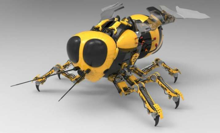 NASA to develop robot-bees to explore red planet Mars.