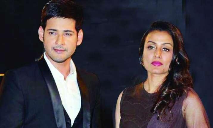 Mahesh Babu shares mushy moment with wife Namrata shirodkar