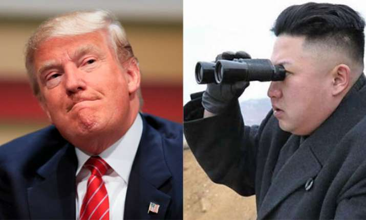US President Donald Trump and North Korean dictator Kim