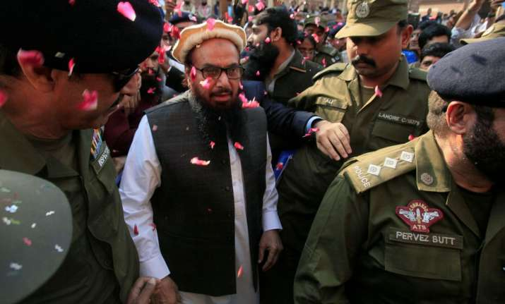 26/11 Mumbai terror attack mastermind Hafiz Saeed