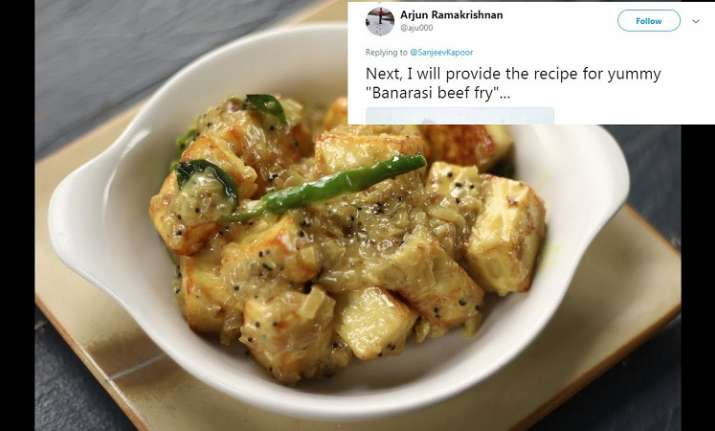 Twitterati troll chef sanjeev kapoor for his experimental malabar sanjeev kapoor trolled for his malabar paneer recipe forumfinder Image collections