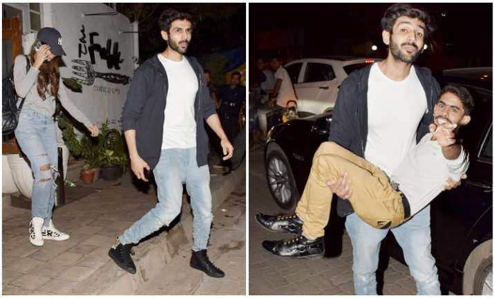 Kartik Aaryan spotted with rumoured GF