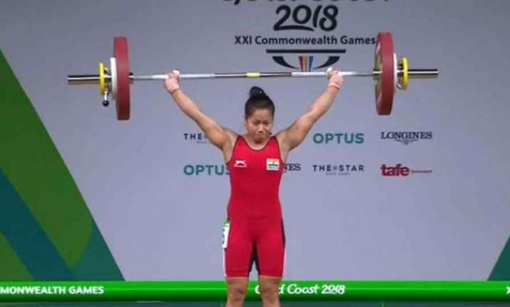 Sanjita Chanu wins gold in 53 kg weightlifting event at