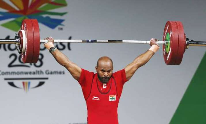 Sathish Kumar Sivalingam wins gold in Men's 77 kg