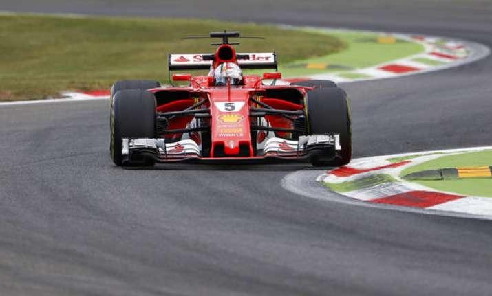 Sebastian Vettel fastest in third practice for Azerbaijan ...