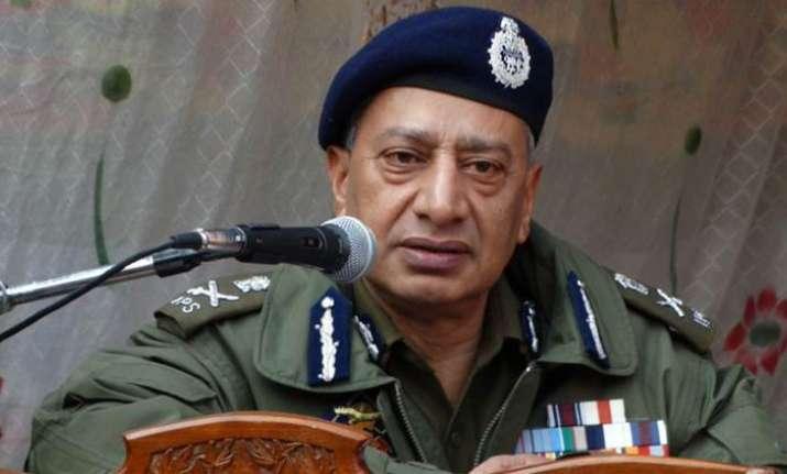 J&K Police DGP SP Vaid