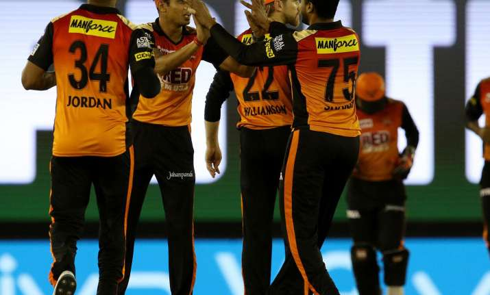 MI vs SRH, IPL 2018 Live Cricket Score: SRH players