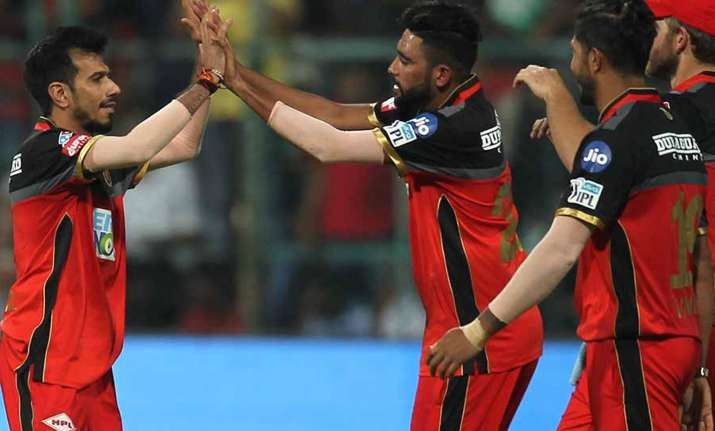 Chahal picked up 2 for 28 against Delhi Daredevils. (IANS)