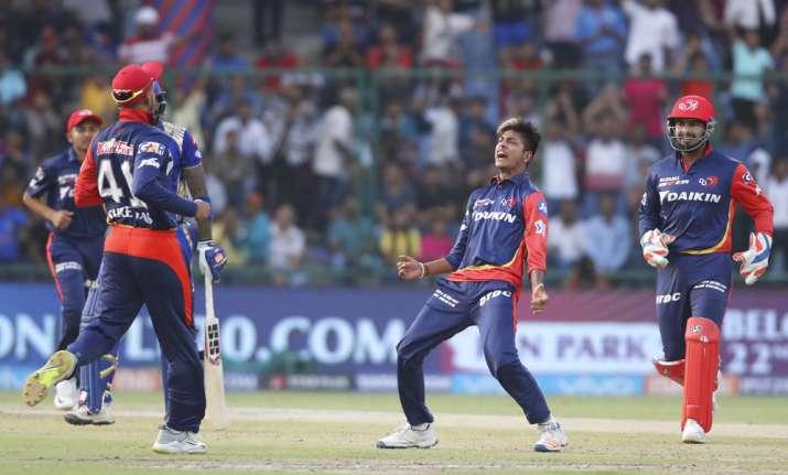 Live Cricket Score, IPL 2018, Delhi Daredevils vs Mumbai
