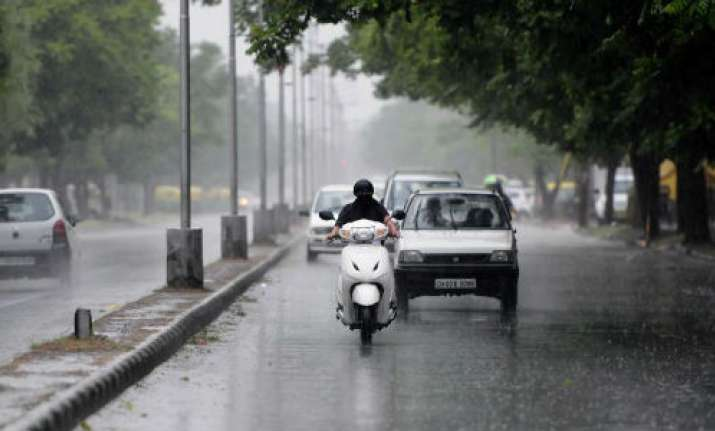 Respite from soaring temperature as rain lashes areas of