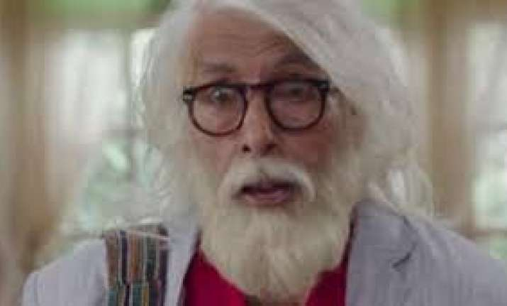102 Not Out star Amitabh Bachchan: There's still a fear