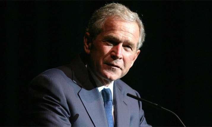 File photo of former US president George Bush