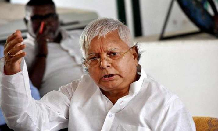 File photo of RJD president Lalu Yadav.