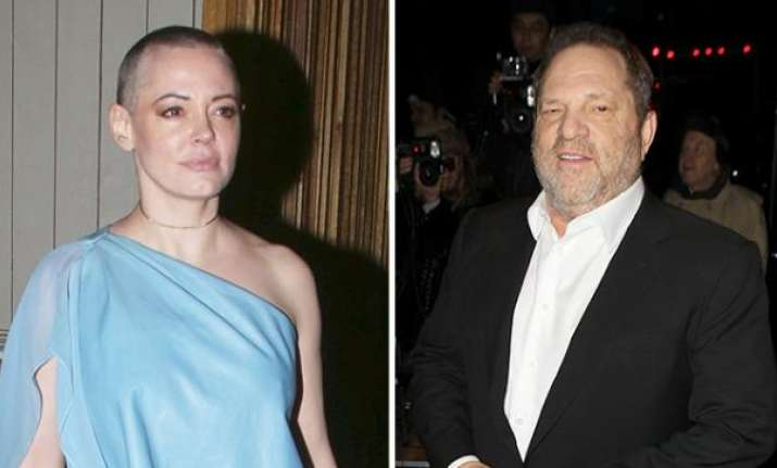 Rose McGowan on Harvey Weinstein: 'Indicted, Finally'