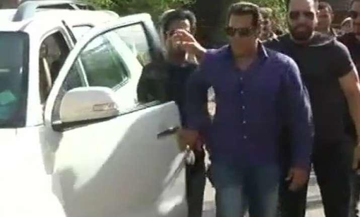 Blackbuck poaching case: Salman Khan reaches Jodhpur court
